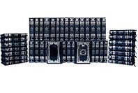 Книги элитная серия подарочные BST 860520 150х225х55 мм Собрание «Гении власти» (Robbat Blu) (в 50-ти томах) в кожанном переплете