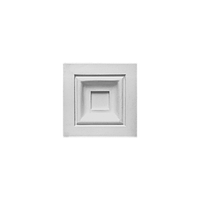 Блок Orac Luxxus,D200, 9.6x9.6x3см, лепной декор из полиуретана