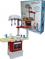 """Кухонный набор """"INFINITY basic №1"""", духовой шкаф, плита и мойка, сушилка, вытяжка, шкаф, Полесье, 42279"""