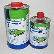 Лак акриловый Mobihel (Мобихел) 2К 2:1 FG Anti-Sctratch  1л + отвердитель 8100 0,5л