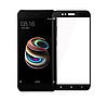 Стекло Full Glue 5D Xiaomi Mi A1/5X, Black (техпак)