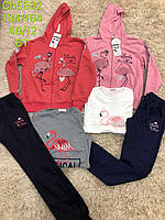 Трикотажный костюм 3 в 1 для девочек, S&D, 134-164 см,  № CH-5832