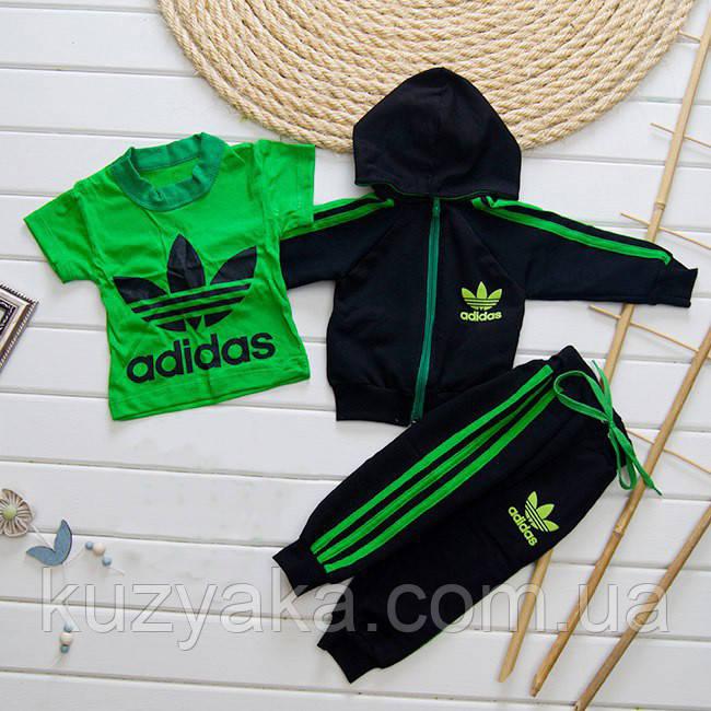 Детский спортивный костюм 3 в 1 на рост 74-110 см