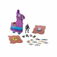 Игровая коллекционная фигурка Fortnite и набор артефактов Jazwares Llama Drama Loot Pinata