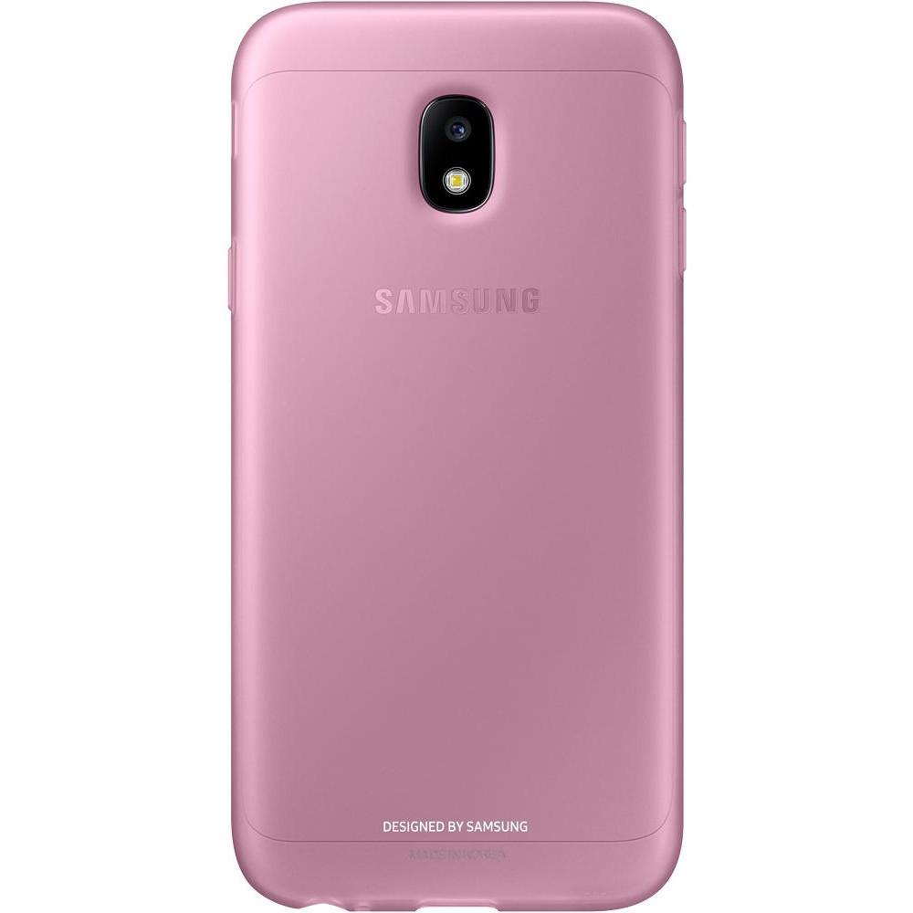 Чехол для смартфона Samsung Galaxy J3 2017 J330 Jelly Cover Pink (EF-AJ330TPEGRU)
