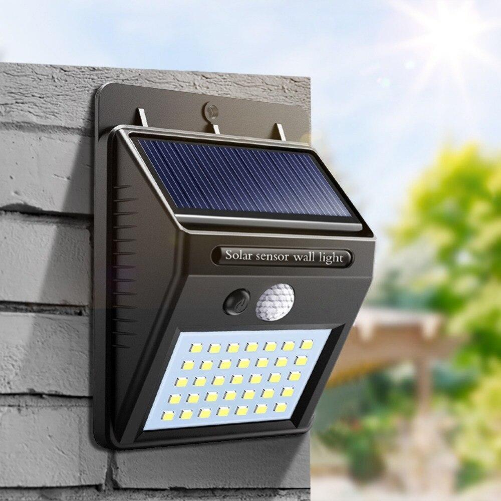 Настенный уличный светильник Solar motion (На солнечной батарее) без датчика движения