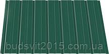 Профнастил ПС 8*940*2000 RAL (зелёный) ИНДАСТРИ (0,2)
