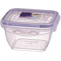 FreshBox Контейнер для хранения с герметической крышкой 0,5л 12,3х12,3 см h6,8 см полипропилен Al-Plastic