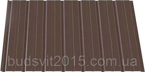 Профнастил ПС 8*940*2000 RAL (шоколад) ІНДАСТРІ (0,2)