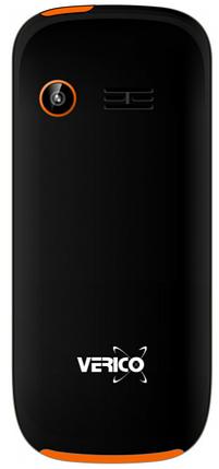 Мобильный телефон Verico A182 Black-Orange Гарантия 12 месяцев, фото 2