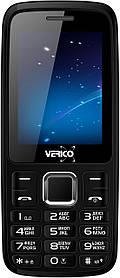 Мобильный телефон Verico B241 Black-Red Гарантия 12 месяцев