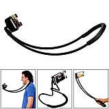 Универсальный держатель для мобильного VOLRO Lazy Bracket Black (vol-192), фото 3