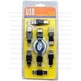 Переходники USB, mini USB, micro USB