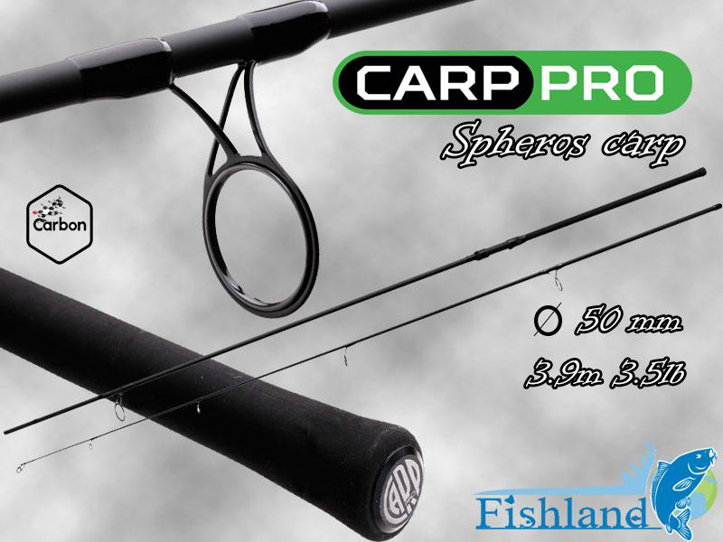 Карповое удилище Carp Pro Spheros Carp 13' 3.9m 3.5lb 50mm