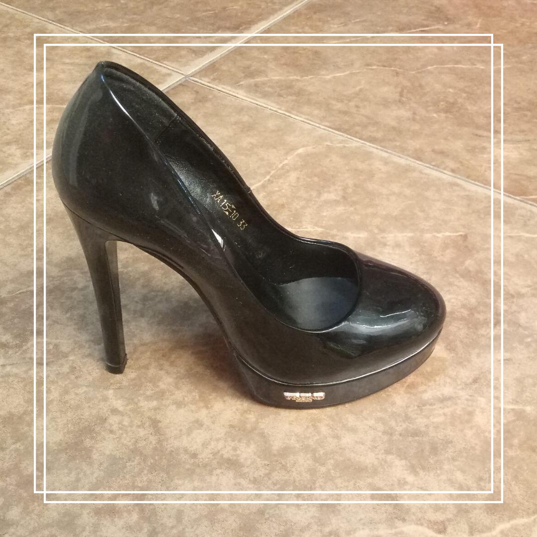 Женские туфли Lino Marano XA15-10 черный лак Trend