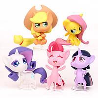 Фигурки героев мультфильма Мой маленький пониMy Little Pony 5 штук