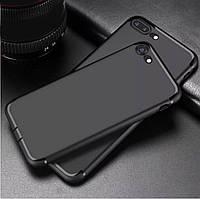Силиконовый чехол  для Iphone 7 plus/Iphone 8 plus черный мужской
