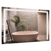 Зеркало прямоугольное с LED подсветкой SmartWorld Piano 100x120x3 см (1014-d182-100х120х3)