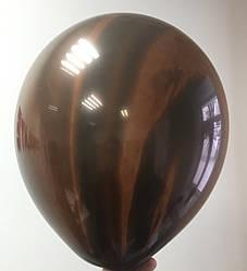 Зеркальный Шар Дабл Стафф 12″ Мраморный, Stuffed, Тигровый Глаз