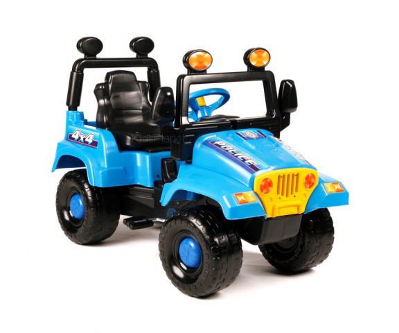 Детская большая машинка на педалях