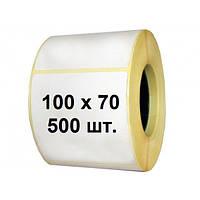 Термоэтикетка Эко 100х70 (500 шт. в рулоне)