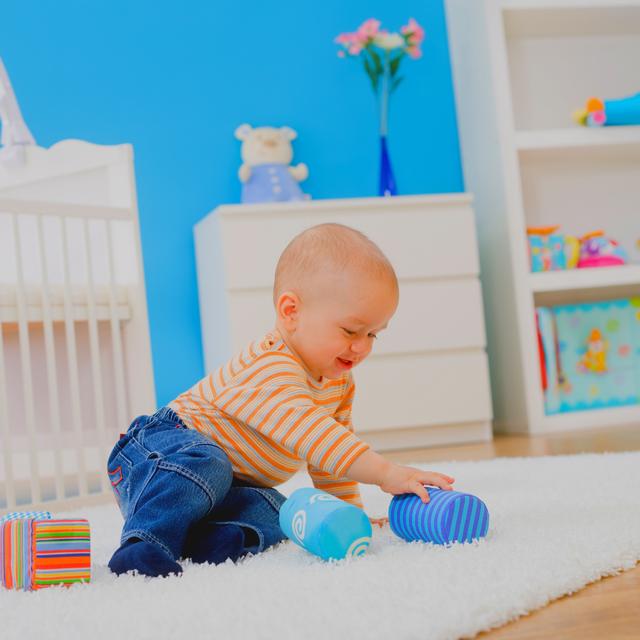 как оборудовать детскую комнату-фото