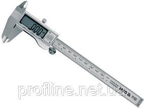Штангенциркуль электронный, l = 150 мм, точн. +- 0,03 мм YATO YT-7201, фото 2