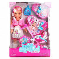 Кукла с коляской и аксессуарами ТМ MAYLLA Model арт. 88107