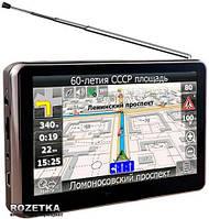 "Автомобильный GPS навигатор Телевизор Pioneer 5"" + FM трансмиттер"