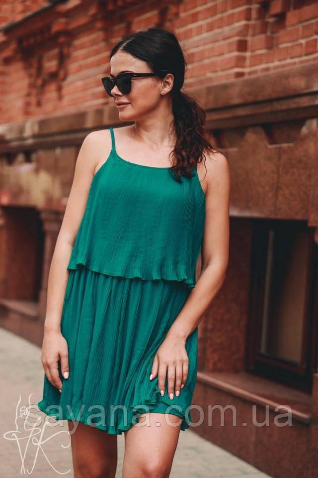 женское платье  с вишнями