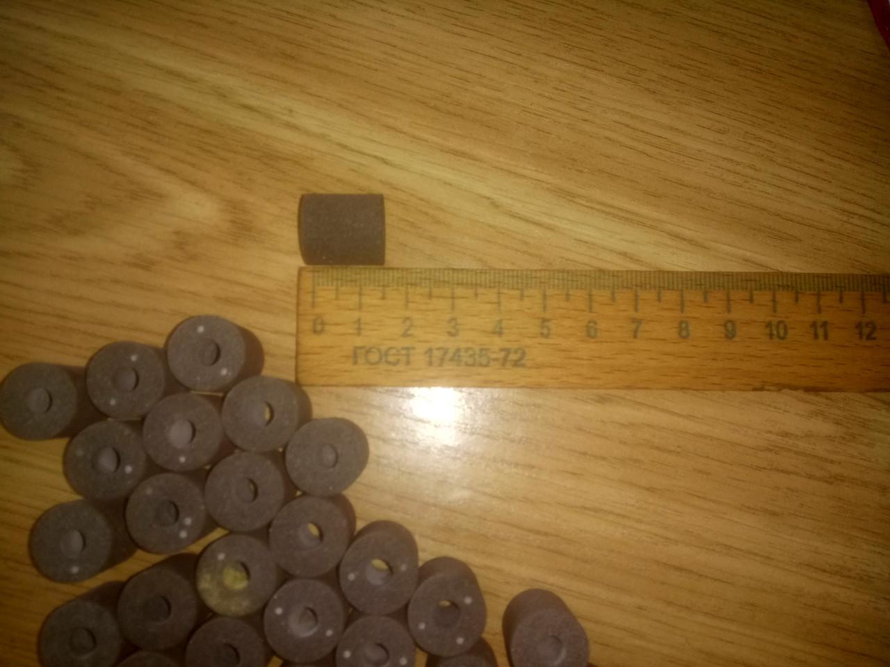 Головка шлифовальная,цилиндрическая с отверстием(круг эльборовый) ЭБ16х16х6
