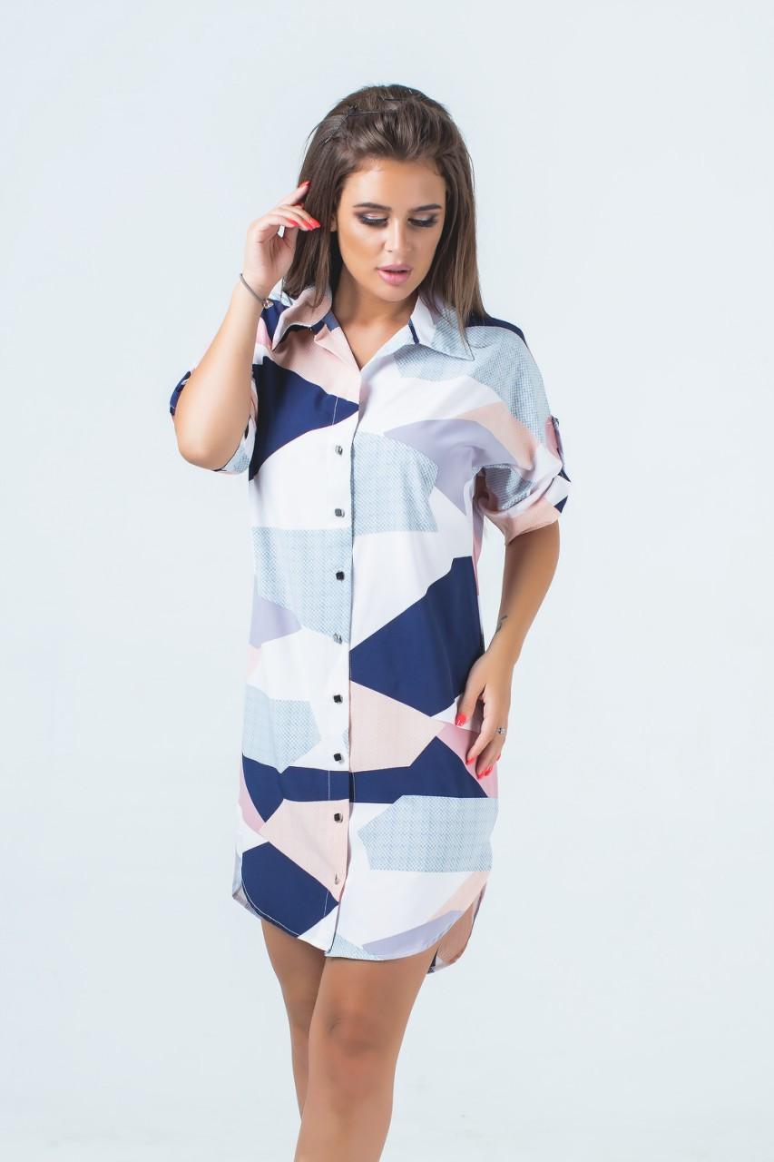 Батальная туника-платье (52-56)