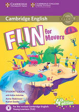 Fun for 4th Edition Movers Student's Book with Online Activities with Audio