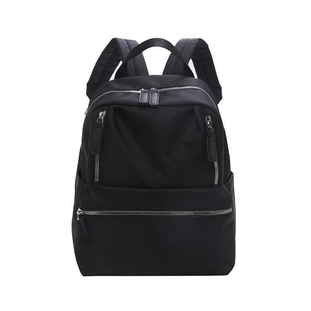 Женский рюкзак нейлон черный