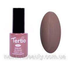 Гель-лак Tertio Бледный серо-коричневый №147 10 мл