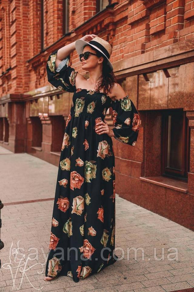 платье женское плиссе
