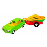 """Игрушка детская Машина """"Авто с прицепом"""" 39002  Wader"""