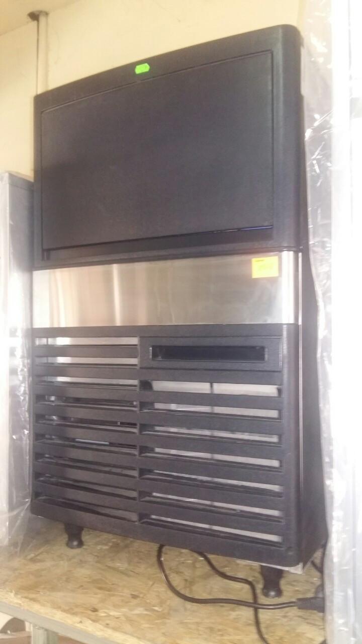 Льдогенератор кубикового льда VEKTOR GRT-LB80S  (40 кг/сут) новый