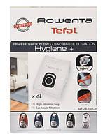 Оригинал. Набор мешков (4 шт) для пылесоса Rowenta код ZR200520, ZR200540