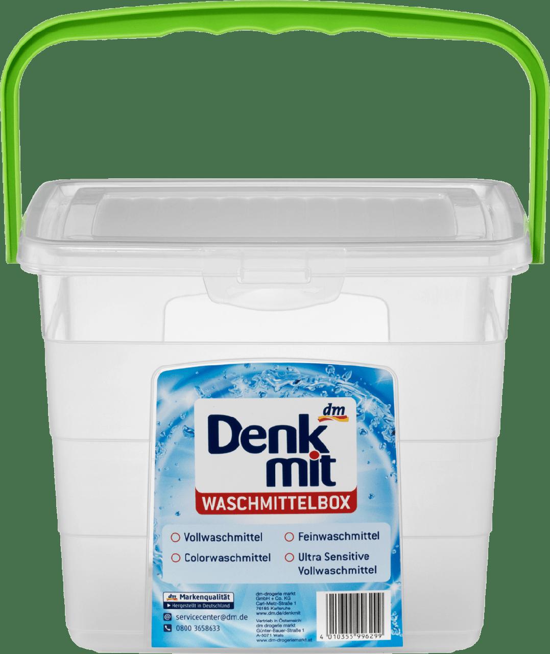 Пластиковый контейнер для стирального порошка Denkmit Waschmittelbox
