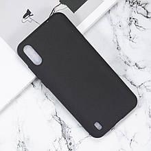 Чехол силиконовый для Blackview A60 / Оригинальный с матовым Soft-touch покрытием / есть стекла