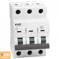 Автоматичний вимикач VIKO 3 п  25А