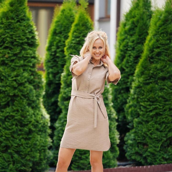 Жіноча сукня - сорочка Bonnie вище коліна 46, 48, 50