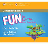 Fun for 4th Edition Starters Class Audio CD