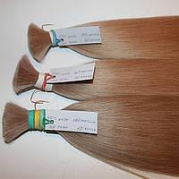 Срез натуральных славянских волос пепельный блонд, фото 1