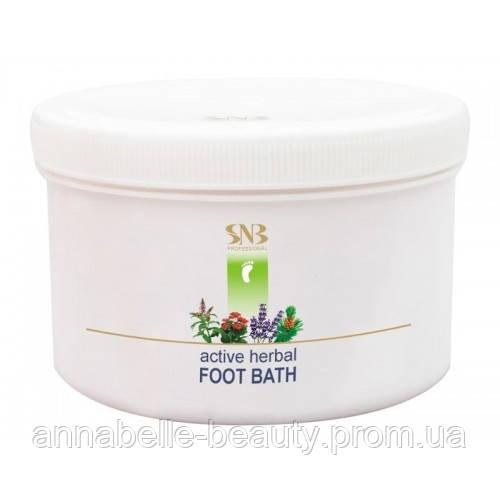 Активная травяная ванна для ног SNB Professional 365 гр