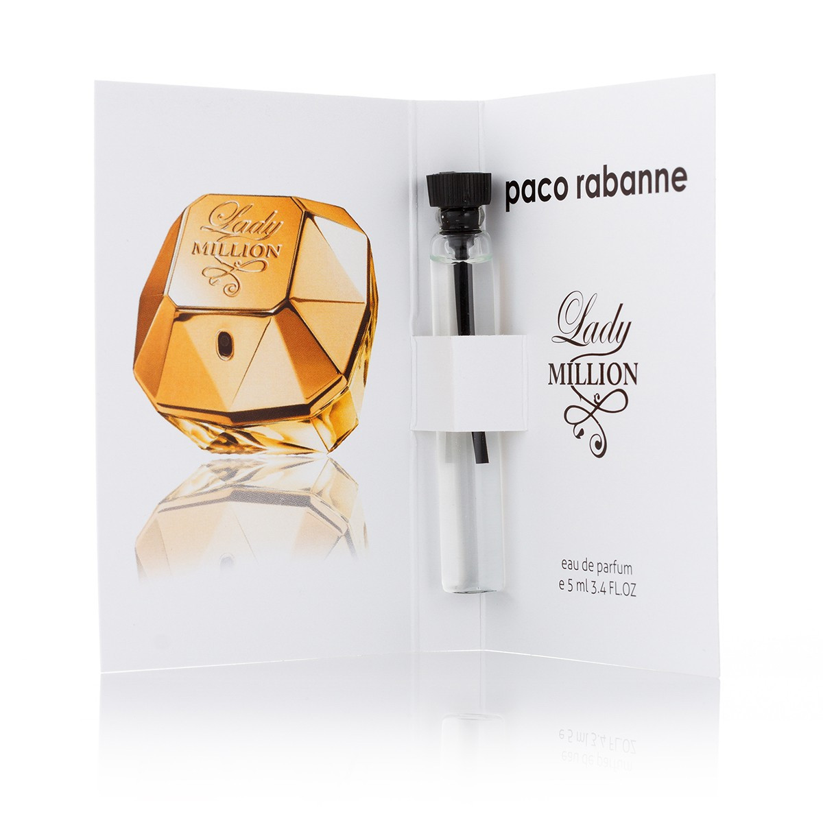 Paco Rabanne Lady Million - Sample 5ml