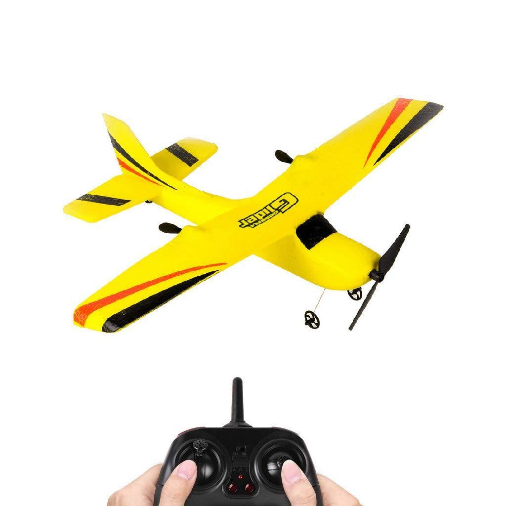 Самолёт на Радиоуправлении С Гироскопом ZC-Z50 размах крыльев 340 мм Жёлтый