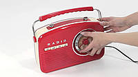Ретро радиоприемник Camry CR 1130 red