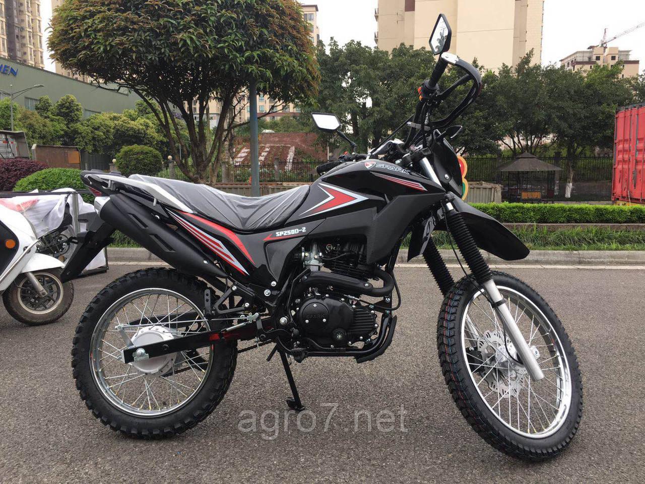 Кроссовый мотоцикл с доставкой SPARK SP250D-2